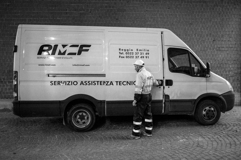 servizio assistenza tecnica esterna di RIMEF